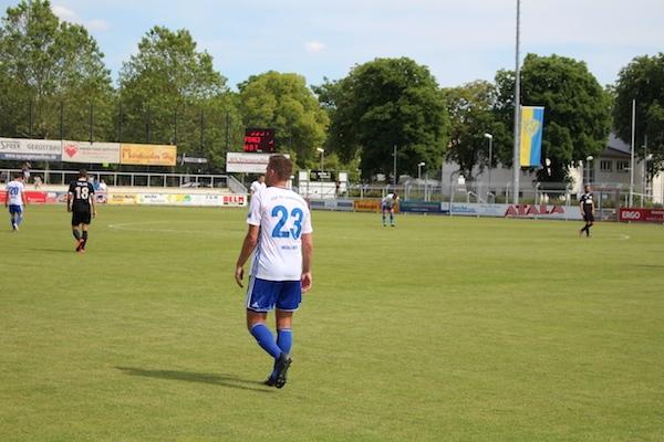 30. Spieltag 2018/ 2019 - Luckenwalde gegen Hohenstein Ernstthal - 21