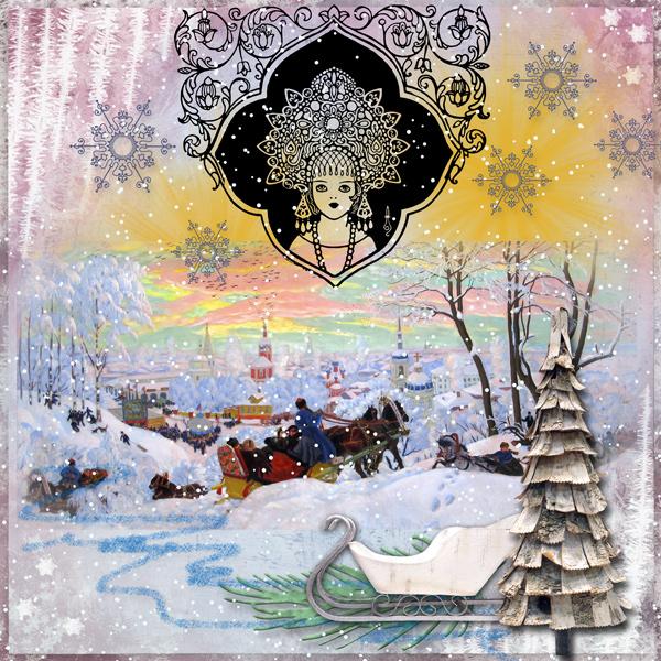 Snow Maiden by Cheryl