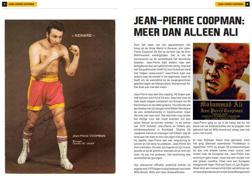 VBL Nieuwsbrief - Jean-Pierre Coopman: Meer dan alleen Ali-22ste publicatie seizoen 2019