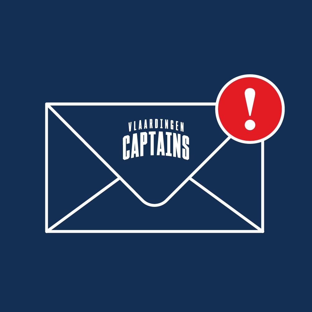 Important Mail Vlaardingen Captains