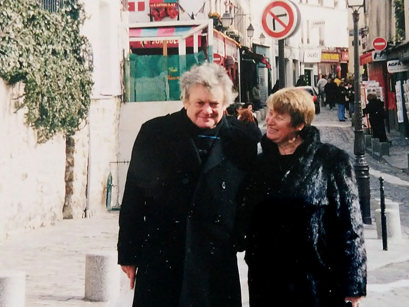 vladimir levitt and Michele Dollfuss