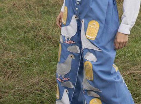 Figuren uit vilt -voorbeeld materialen textiel