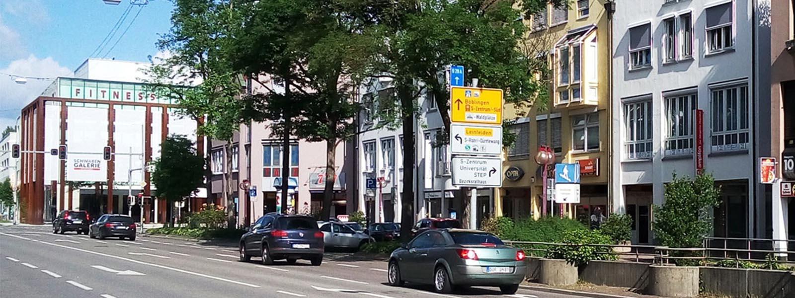 Stadtzentrum S-Vaihingen
