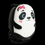 Polly the panda, en tuff väska med sparkcykel