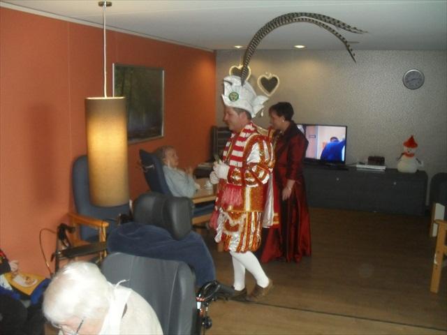 Bezoek Rusthuizen en afscheid Carnaval 2013 066