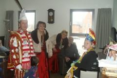 Bezoek Rusthuizen en afscheid Carnaval 2013 011