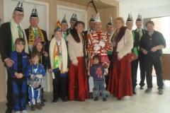 Bezoek Rusthuizen en afscheid Carnaval 2013 044