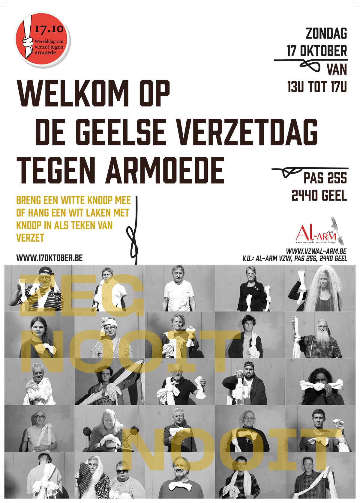 Poster armoede