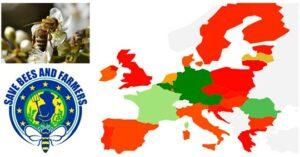 Europa kleurt rood: flink meer handtekeningen nodig om bijen te redden