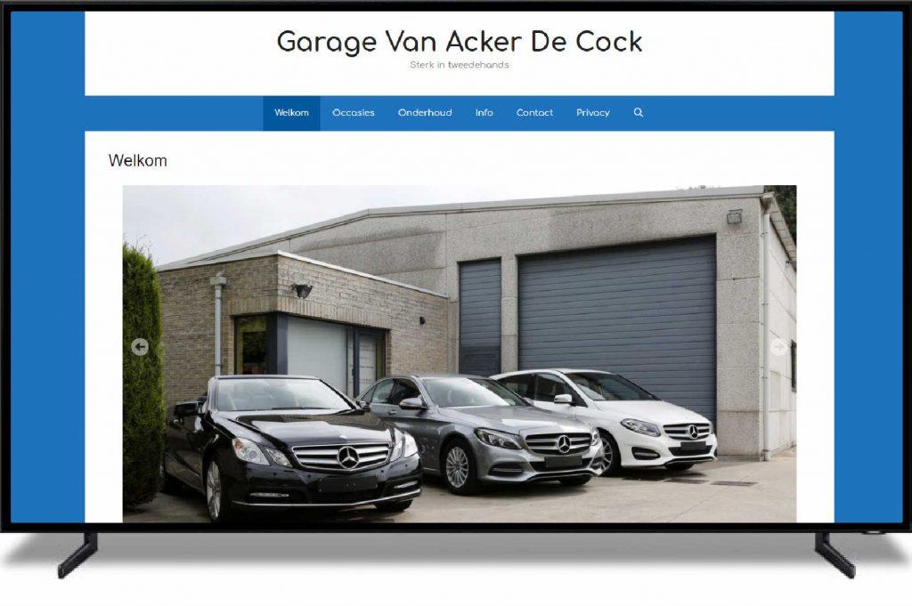 GARAGE VAN ACKER DE COCK