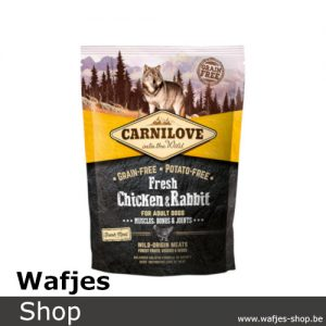 CARNILOVE - Fresh Chicken & Rabbit 1,5kg