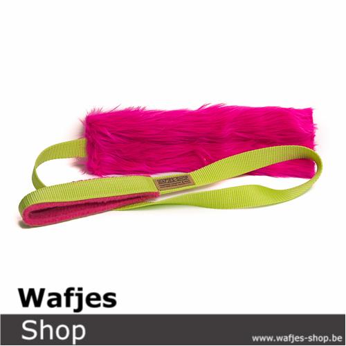 Wafjes Fluffy Chaser Pink