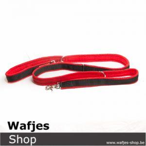 Verstelbare hondenleiband