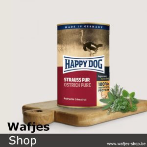 HappyDog - Blik-OstrichPure