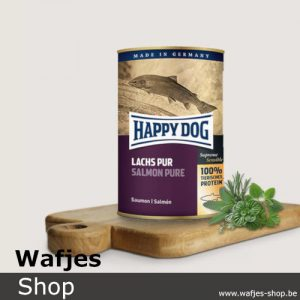 HappyDog - Blik-SalmonPure