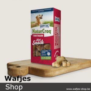 HappyDog - NaturCroq-Snack-Kalkoen