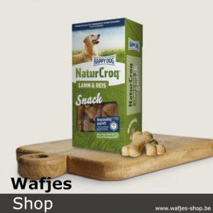 HappyDog - NaturCroq-Snack-Lam-Rijst