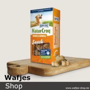 HappyDog - NaturCroq-Snack-Rund-Spelt