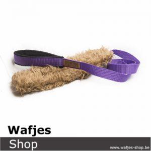 Hondenspeeltje Wafjes-Teddy-Chaser Purple-Black