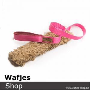 Hondenspeeltje Wafjes-Teddy-Chaser Fushia-Bordeaux