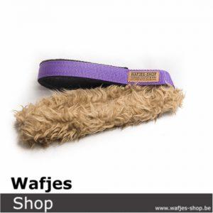 Hondenspeeltje Wafjes-Teddy Purple-Black