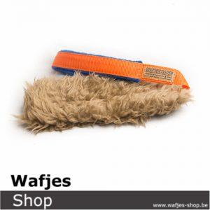 Hondenspeeltje Wafjes-Teddy Orange-Blue
