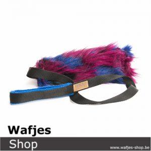 Wafjes Fluffy Chaser Blue