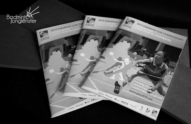 Badminton Europe Broschüre