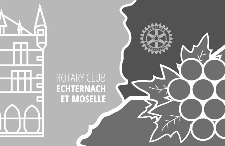 Flagge für Rotary Club Echternach et Moselle
