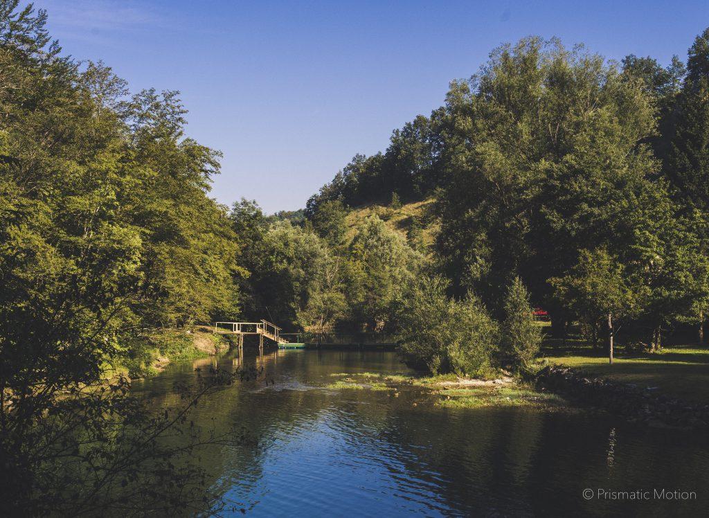 Wonderful Modem Festival surroundings lake and forrest