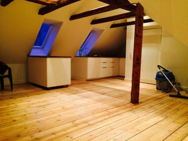 1 sal renovering med lille køkken