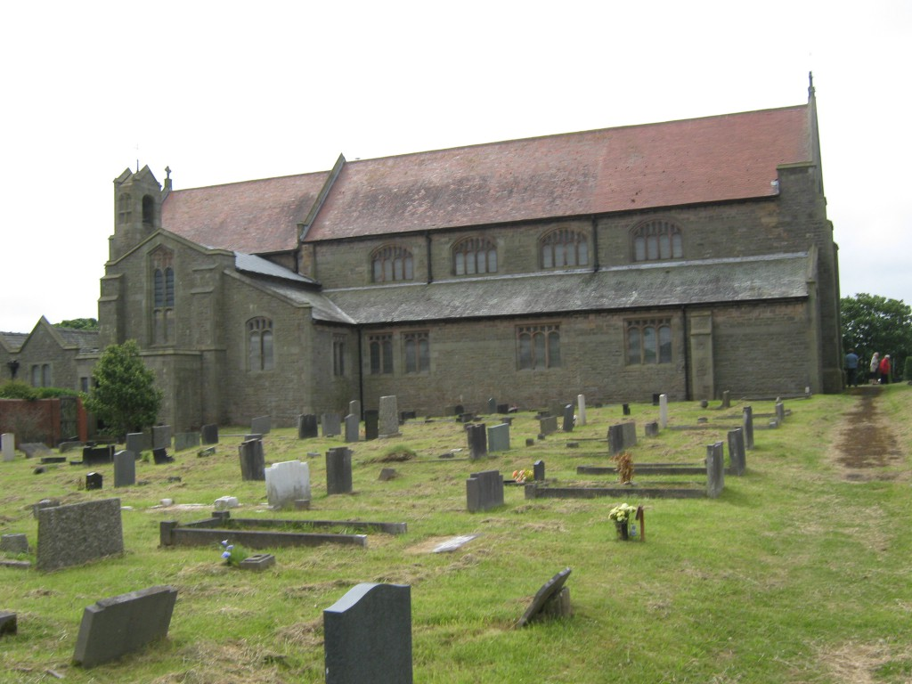 Our Church and graveyard