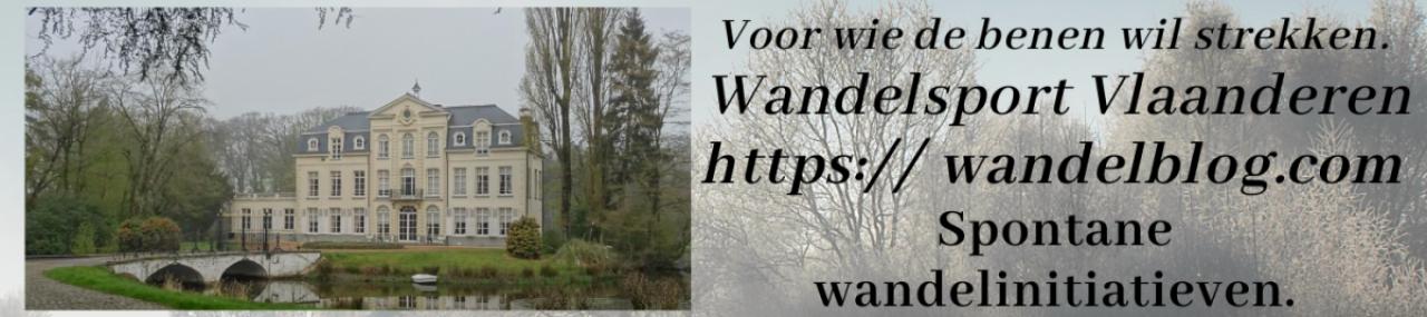 Wandelblog Wandelsport Vlaanderen