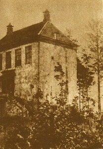 Het voorgebouw van het oude Kasteel