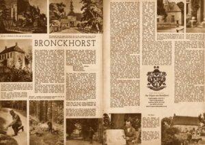 Placemat van Het Wapen van Bronkhorst
