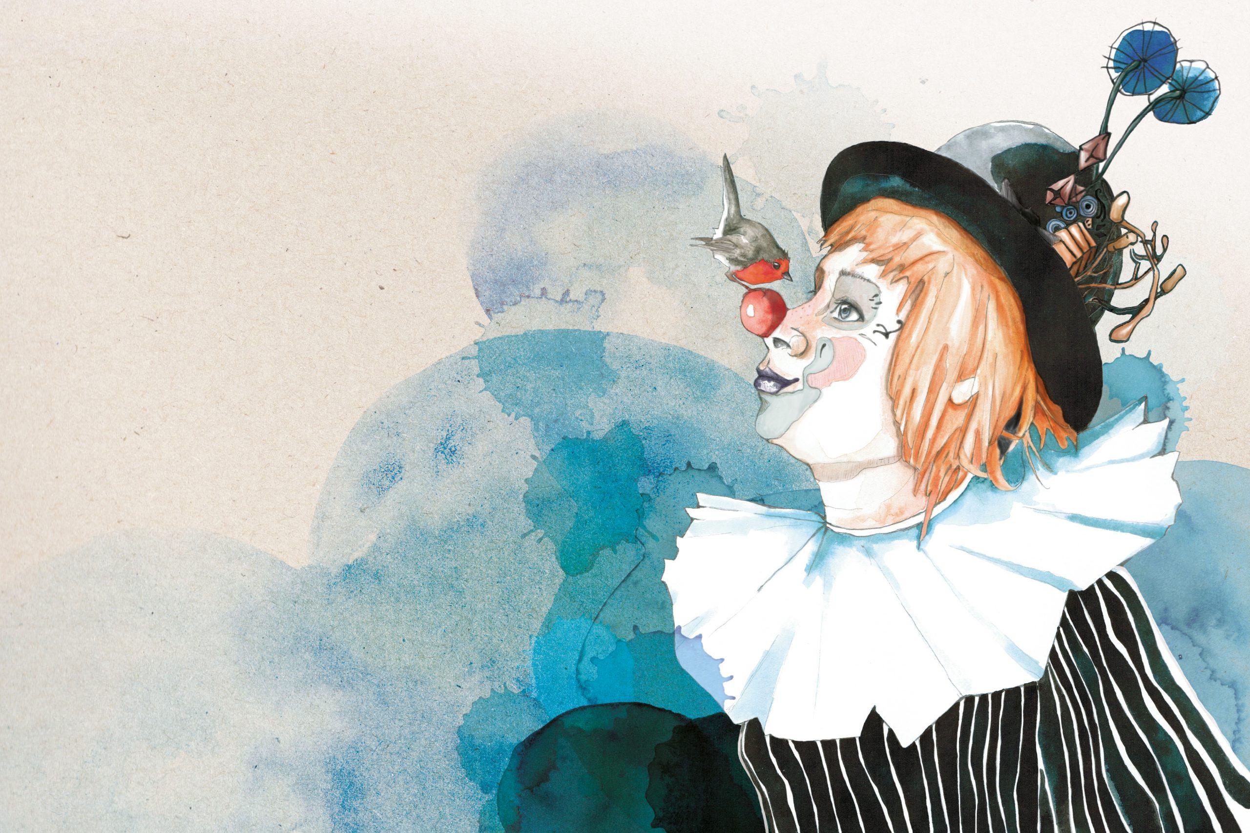 franziska_schneider_illustration_rotkehlchen_clown