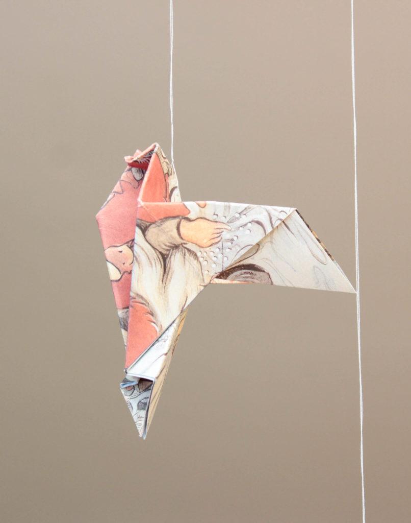 Origami duva