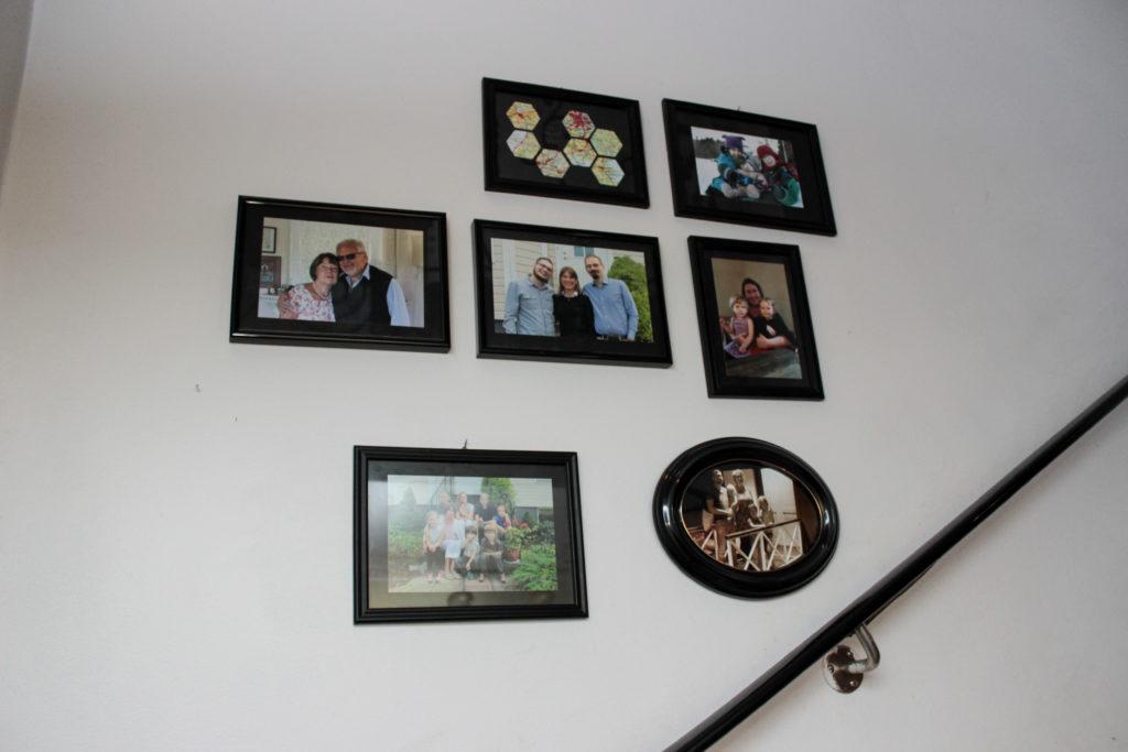 Exempel på hur du kan hänga foton tillsammans för att skapa större impact.