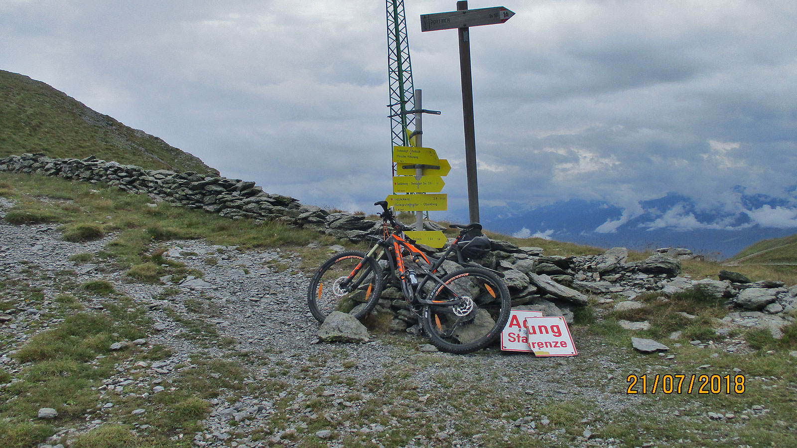 Alpencross 2018 Etappe 01