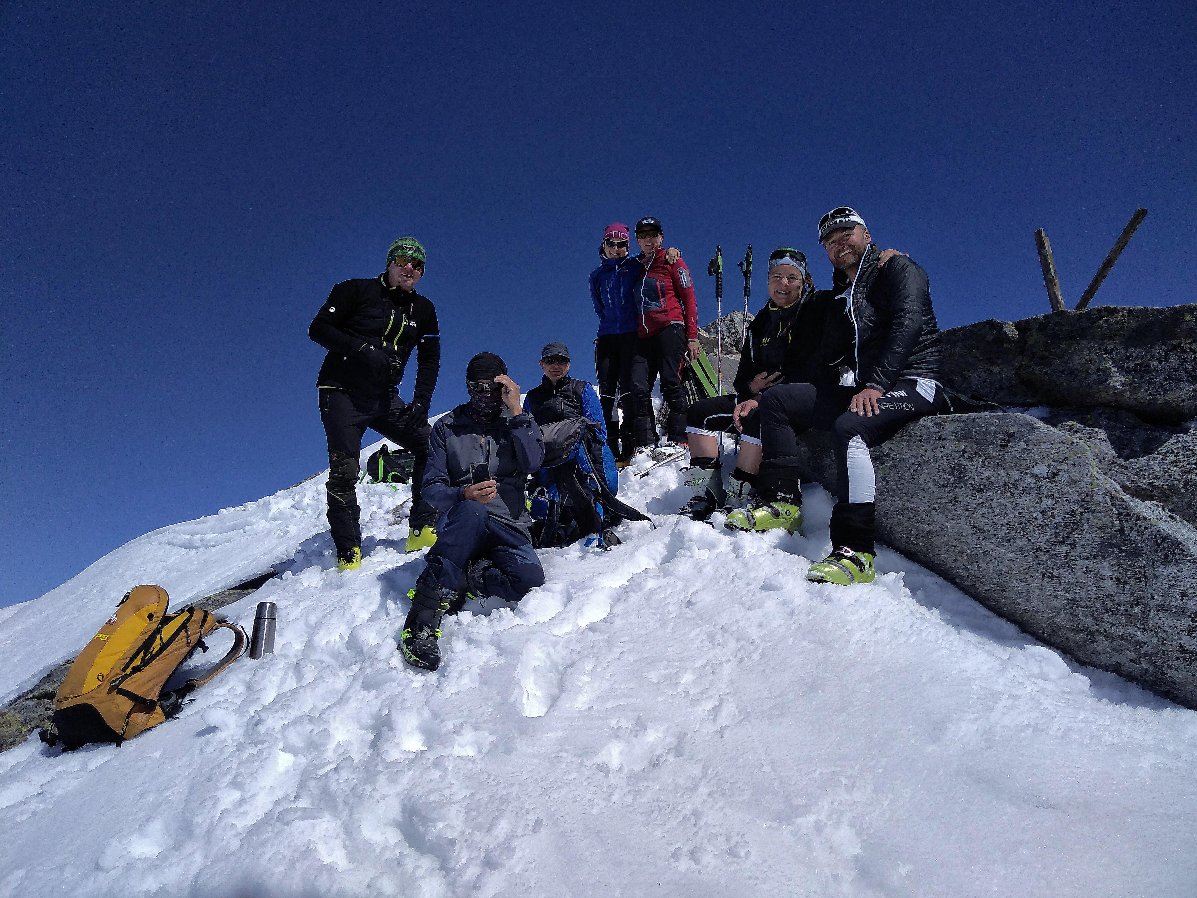 Skitour Krimmler Tauern auf den Klockerkarkopf am 20.04.2019