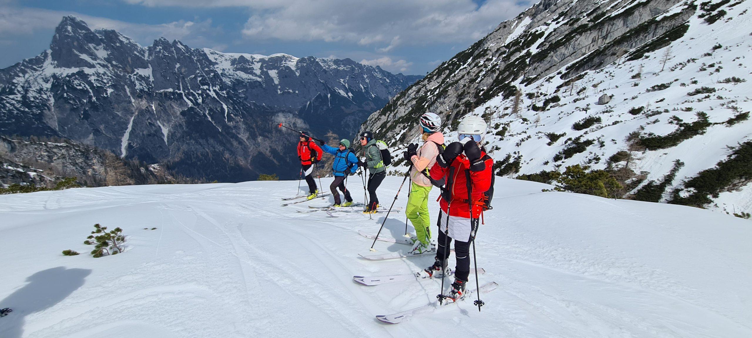 Skitour Hochfeldscharte 2021