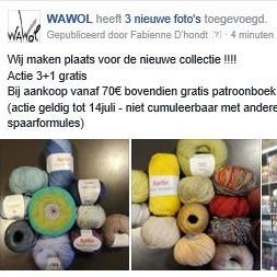 Wawol 3+1 gratis
