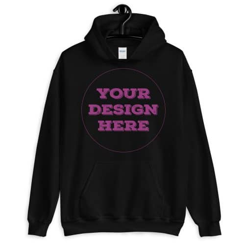 Front Pocket Hoodie Unisex Customizable
