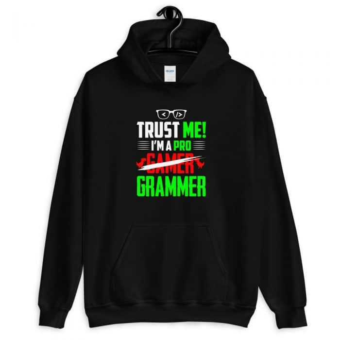 Trust Me I`m a Pro Front Pocket Hoodie