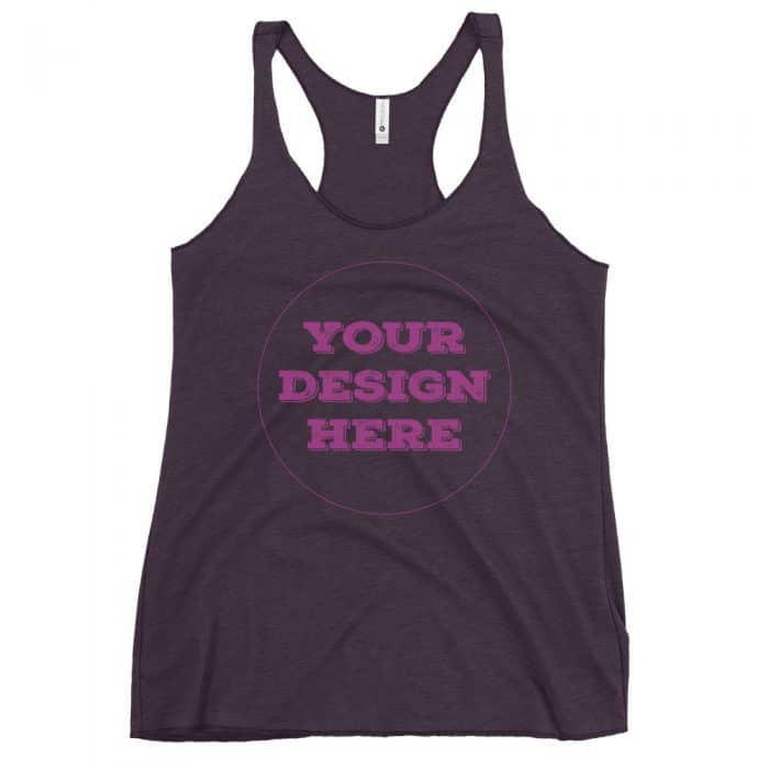 Women's Customizable Racerback Tank