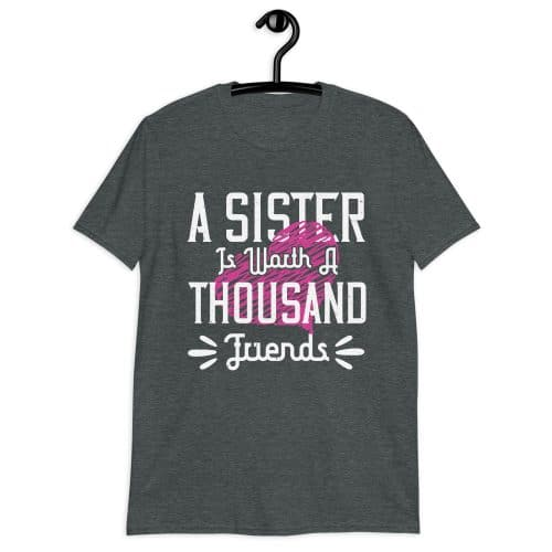 A Sister Is Worth A Thousand Friends T-Shirt