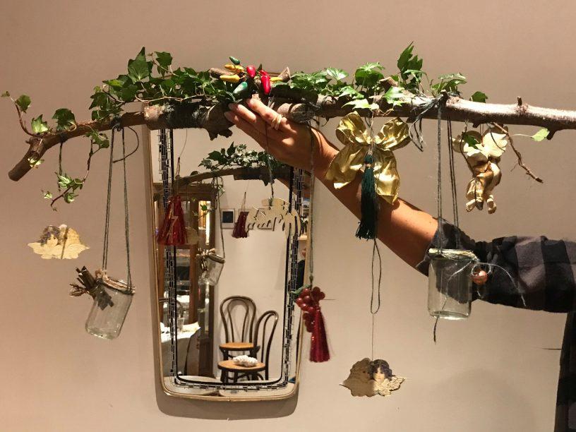 """Branche décorative """"Hiver"""""""