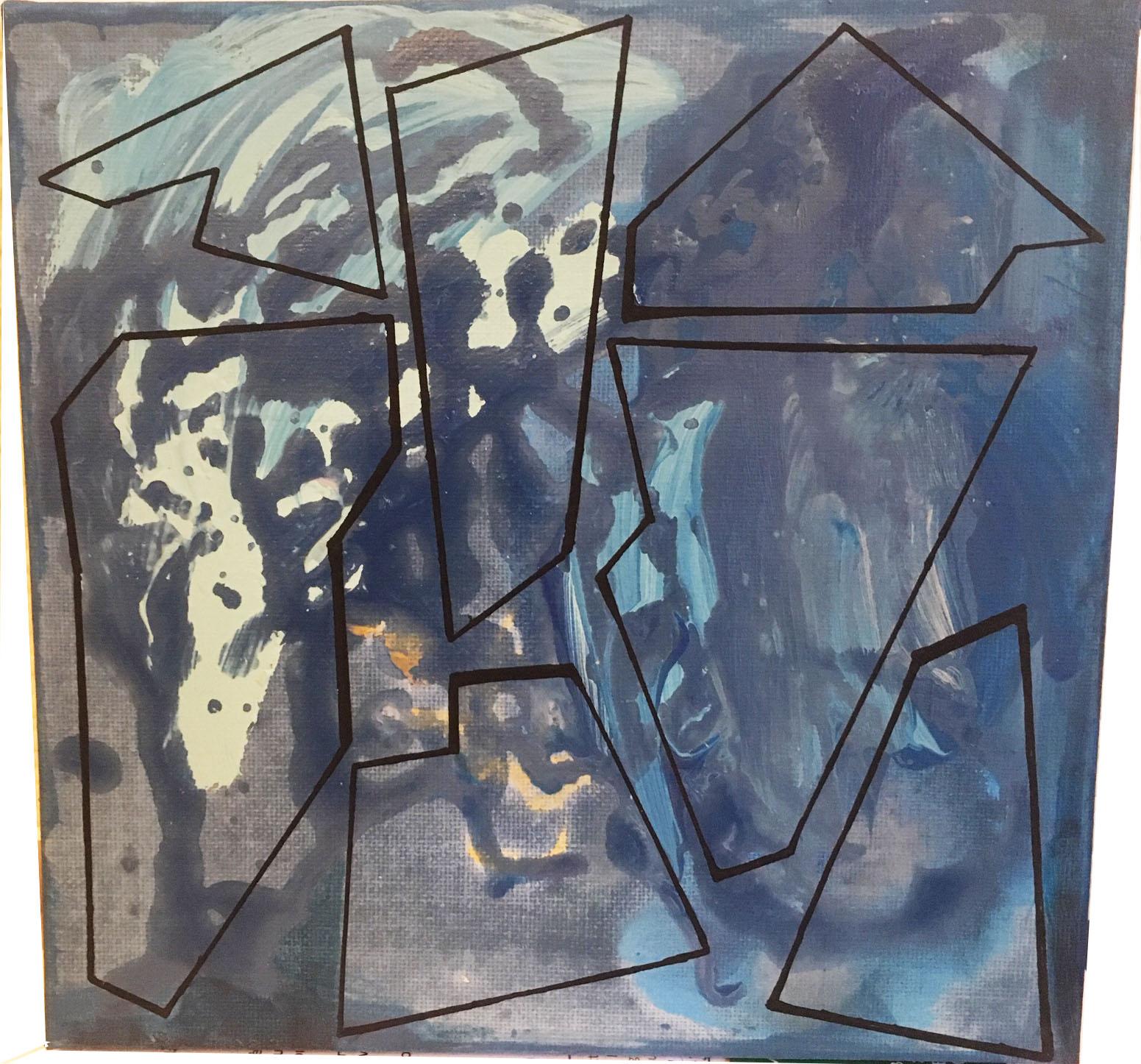 Peinture sur panneau de Plexiglas