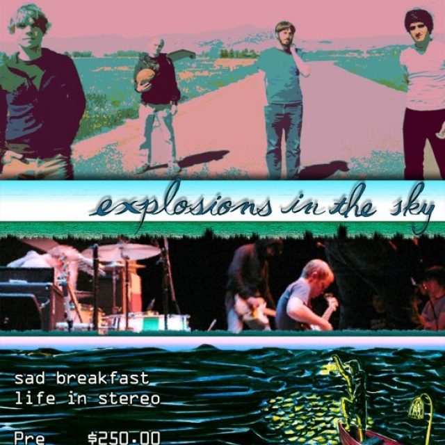 Explosions in the sky en Guadalajara.
