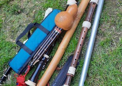 La Tsampa flutes - Mike _ Tenzen